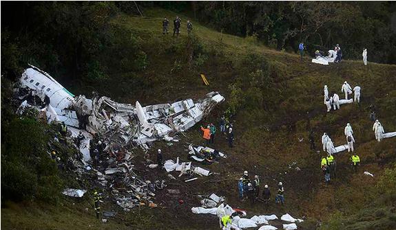 Hành khách không cài dây an toàn trong vụ rơi máy bay Colombia